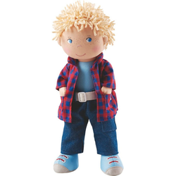 Haba Stoffpuppe HABA 302843 Stoffpuppe Nick, 30 cm