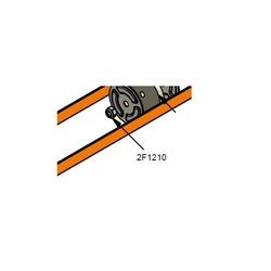 PC Cox Ersatzteil 2F 1210 M8 Nylock Nut M8 Schraube selbstsichernd