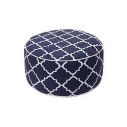 MCW Sitzkissen MCW-G31, Bezug abnehmbar, Aufblasbares Kissen wasserfest/wasserdicht, Outdoor geeignet blau