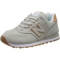 NEW BALANCE WL574 Coastal Pack overcast/faded mahogany 36