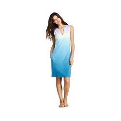 Strandkleid Print - M - Blau