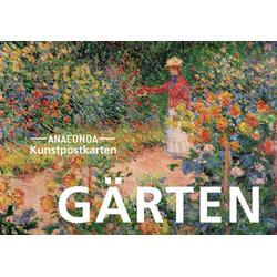 Postkarten-Set Gärten