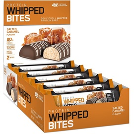 Optimum Nutrition Protein Whipped Bites Salted Caramel Riegel 12 x 76 g