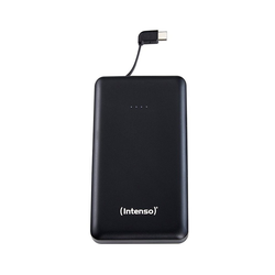 Intenso Powerbank Slim S10000-C Type C Kabel schwarz Powerbank