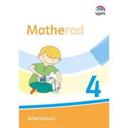 Matherad 4. Arbeitsbuch Klasse 4: Buch von