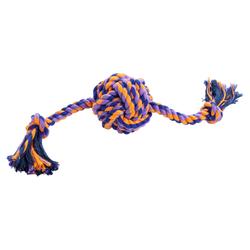 Hunter Hundespielzeug Jena Ball mit Tau, Größe: S