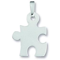 ONE ELEMENT Kettenanhänger Anhänger Puzzle aus 925 Silber