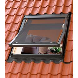 VELUX Hitzeschutzmarkise für Dachfenstergröße: 204/206 schwarz 204/206