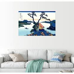 Posterlounge Wandbild, See Suwa in Shinano Provinz 100 cm x 70 cm