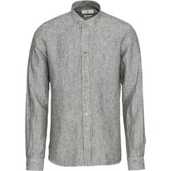 Almsach Trachtenhemd Leinen-Trachtenhemd Slim S