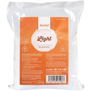 Xucker Light Erythrit kalorienfreier Zuckerersatz - Vegane & zahnfreundliche Zucker Alternative zum Kochen & Backen I Erythrit ohne Stevia I Natürliche Süße zuckerfrei (1kg)