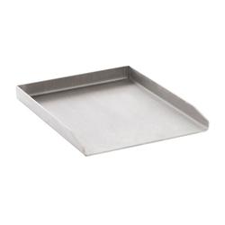 CLP Grillplatte Grillplatte Edelstahl, mit glatter Oberfläche