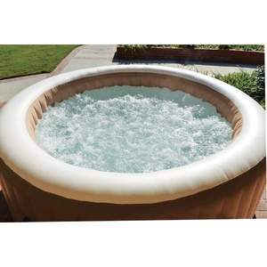 Intex PureSPA Bubble Whirlpool, 216x71cm, beige
