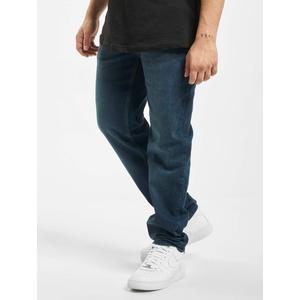 Urban Classics Straight Fit Jeans Männer  Stretch Denim in blau
