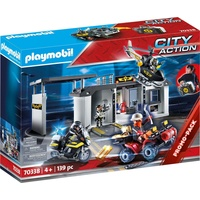 Playmobil City Action Große Mitnehm-SEK-Zentrale