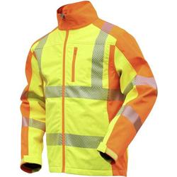 L+D ELDEE 4770-XXXL Softshelljacke YO-HiViz Größe: XXXL Gelb, Orange