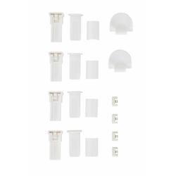 Klemmträger Montagezubehör-Set, my home, Plissees, (Set, 4-tlg), für Plissee
