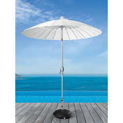 Sonnenschirm Simi weiß, 247 cm