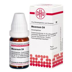 MEZEREUM D 4 Globuli 10 g