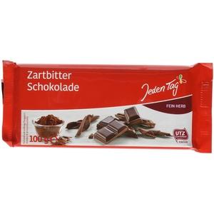 Jeden Tag Schokolade - Zartbitter, 100 g