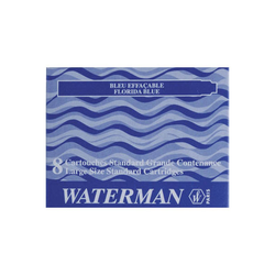 Waterman Tintenpatronen blau