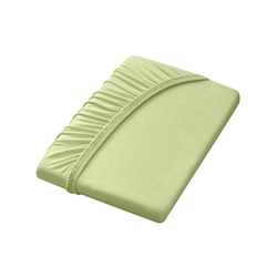 Dormisette Spannbettlaken grün 90-100 cm x 190-200 cm