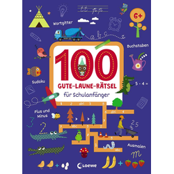 100 Gute-Laune-Rätsel für Schulanfänger: Buch von