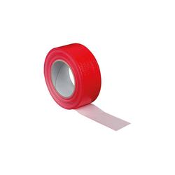 Gewebe-Klebeband PE B: 50 mm, L: 50 m, Stärke 0,2 mm - Farbe: rot
