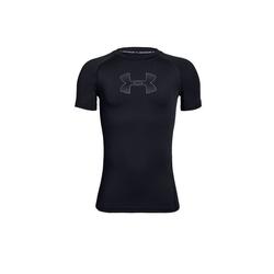 Under Armour® Funktionsshirt Heatgear SL Shirt Kids schwarz
