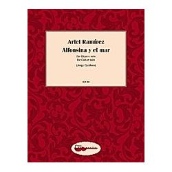 Alfonsina y el mar  Bearbeitung für Gitarre solo. Ariel Ramirez  - Buch
