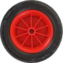 Ersatzrad für Bollerwagen, Reifen Sackkarrenrad, 260x80 mm PU Rad