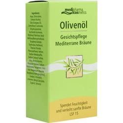 Olivenöl Gesichtspflege Mediterrane Bräune
