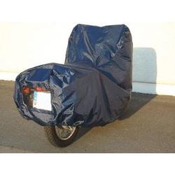 Motorrad/Roller Garage Gr. M Schützt vor Regen und Schmutz mit Sichtfenster