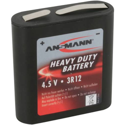 Ansmann 3R12 Flach-Batterie Zink-Kohle 1700 mAh 4.5V