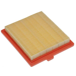 vhbw Ersatzfilter (1x Luftfilter) passend für Castelgarden/GGP/STIGA OM45, REM50, RM45, RV45, SV150 Rasenmäher; 12,2 x 10,8 x 2cm