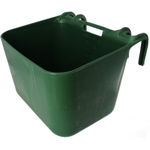 Kunststofftrog XL, grün, 30 Liter