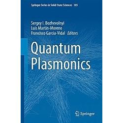 Quantum Plasmonics - Buch