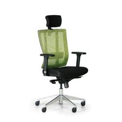 Bürostuhl metrim, schwarz/grün