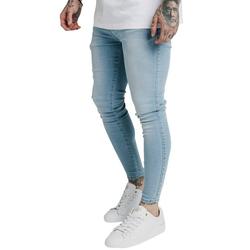 Siksilk Skinny-fit-Jeans SikSilk Jeans Herren SKINNY DENIMS SS-19348 Light Blue XL