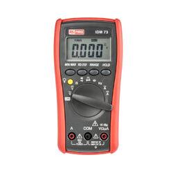 RS PRO IDM73 Digital-Multimeter, 750V ac / 10A ac, 60MΩ, Kat.III, Kat.IV