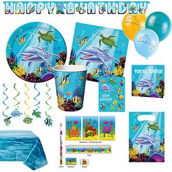 XXL-Partyset Ocean Party, 79-tlg.