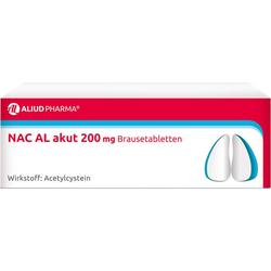 NAC AL akut 200 mg Brausetabletten 20 St.