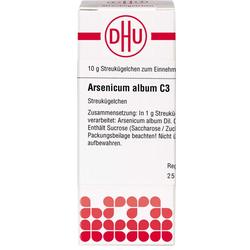 ARSENICUM ALBUM C 3 Globuli 10 g