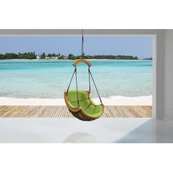 bv-vertrieb Hängesessel Hängesessel Entspannungssessel, Hängesessel Hanging Chair Hamak Hängestuhl outdoor indoor Bezug grün - (3680) grün