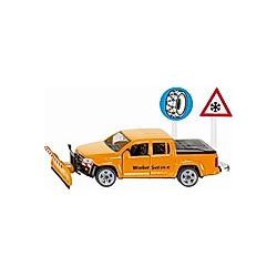 SIKU 2546 VW Amarok Winterdienst 1:55