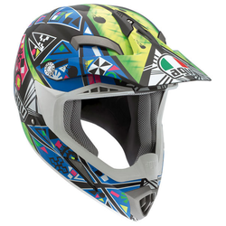 AGV MT-X Karma Cross helm, blauw, XL