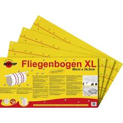 Redtop Fliegenbogen 31091 Fliegenfalle (L x B) 600mm x 345mm Gelb 6St.