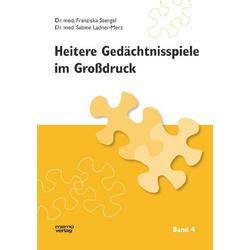 Heitere Gedächtnisspiele im Grossdruck / Heitere Gedächtnisspiele im Großdruck, Band 4