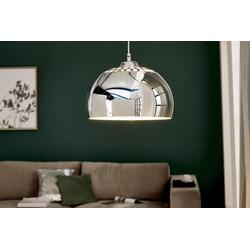 riess-ambiente Hängeleuchte CHROME BALL 32cm chrom, Modern Design