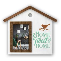 "matches21 HOME & HOBBY Bilderrahmen Bilderrahmen / Wechselrahmen Haus ""Home tweet Home"", (1 Stück)"